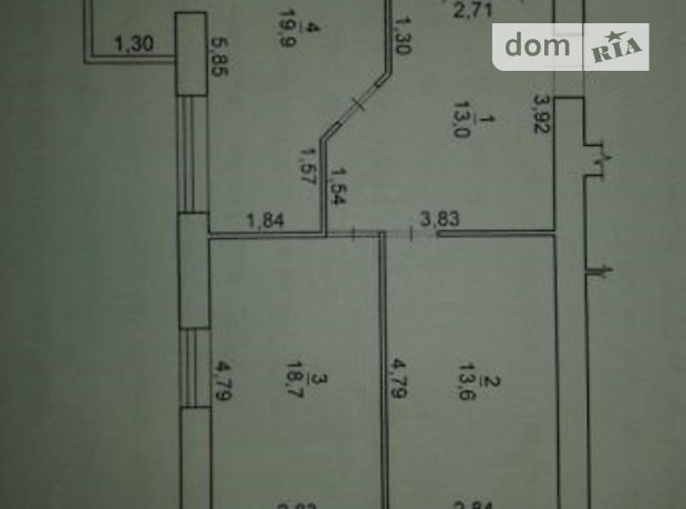Продаж квартири, 2 кім., Черкаси, р‑н.ПЗР, 30-річчяПеремоги вулиця