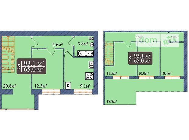 Продажа пятикомнатной квартиры в Чернигове, на просп. Мира район Деснянский фото 1