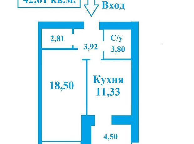 Продажа однокомнатной квартиры в Чернигове, на ул. Любецкая 169, район Масаны фото 1