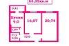Продажа двухкомнатной квартиры в Чернигове, на просп. Мира 277, район Центр фото 2