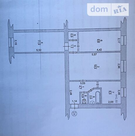 Продажа трехкомнатной квартиры в Черноморске, на миру Проспект 14-А район Ильичевск фото 1