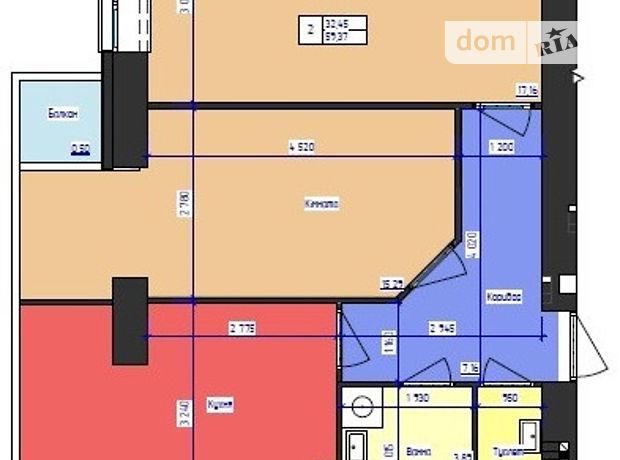 Продажа квартиры, 2 ком., Черновцы, р‑н.Фастовская, Руська