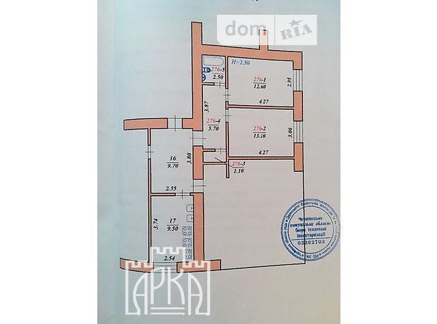Продажа квартиры, 2 ком., Черновцы, р‑н.Комарова-Красноармейская, Парковий проїзд , дом 10