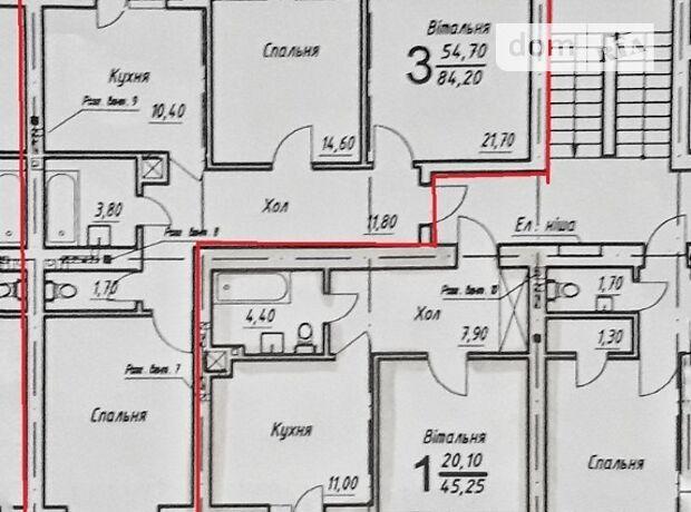 Продажа трехкомнатной квартиры в Черновцах, на Шухевича Романа улица район Проспект фото 1