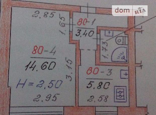 Продаж квартири, 1 кім., Чернівці, р‑н.Проспект, Політаєва