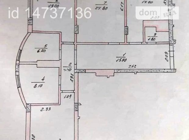 Продажа квартиры, 3 ком., Черновцы, р‑н.Проспект, проспект Независимости, дом 114А