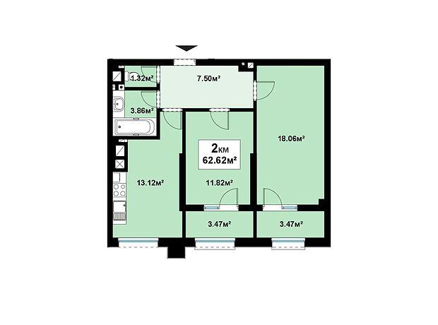 Продажа двухкомнатной квартиры в Черновцах, на ул. Эрлиха Евгения район Шевченковский фото 1