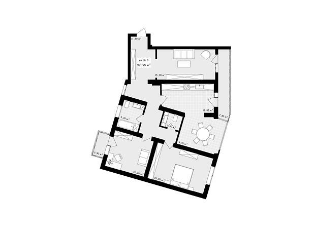 Продажа трехкомнатной квартиры в Черновцах, на ул. Пумнула Арона район Центр фото 1