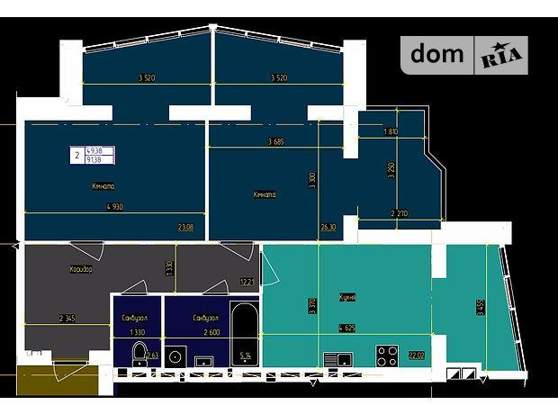 Продаж квартири, 2 кім., Чернівці, р‑н.Першотравневий, Головна вулиця, буд. 220В