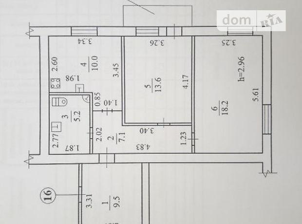 Продаж квартири, 2 кім., Дніпропетровськ, р‑н.12 квартал
