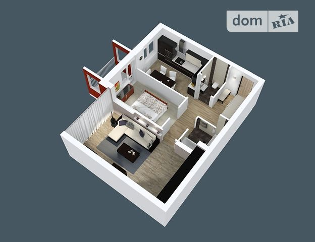 Продажа двухкомнатной квартиры в Днепропетровске, на просп. Мира 25, район Индустриальный фото 1
