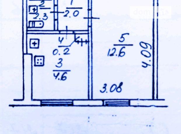 Продаж однокімнатної квартири в Дніпропетровську на просп. Слобожанський 129, район Індустріальний фото 1