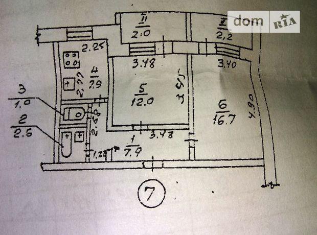 Продаж квартири, 2 кім., Дніпропетровськ, р‑н.Індустріальний, Янтарна вулиця