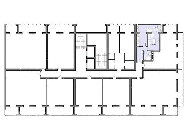 Продажа квартиры, 1 ком., Днепропетровск, р‑н.Жовтневый, Мандрыковская улица