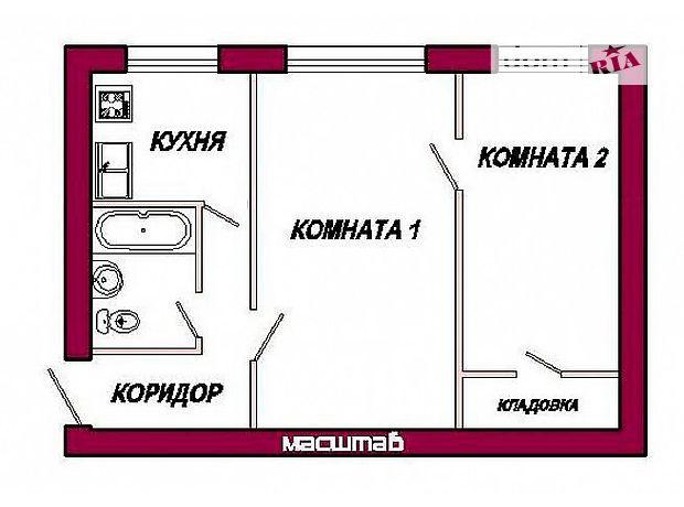 Продажа квартиры, 2 ком., Днепропетровск, р‑н.Косиора, Косиора улица
