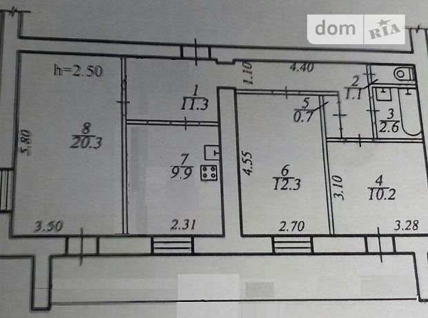 Продажа квартиры, 3 ком., Днепропетровск, р‑н.Набережная