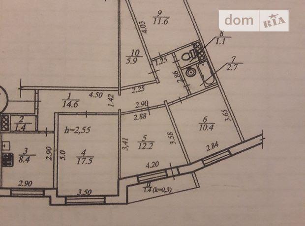 Продаж квартири, 4 кім., Дніпропетровськ, р‑н.Парус, ст.м.Комунарівська, Моніторна вулиця