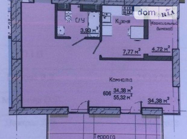 Продаж однокімнатної квартири в Дніпропетровську на просп. Героїв район Перемога фото 1