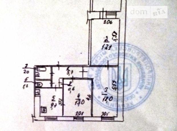 Продажа квартиры, 3 ком., Днепропетровск, р‑н.Победа, Штабной переулок, дом 5