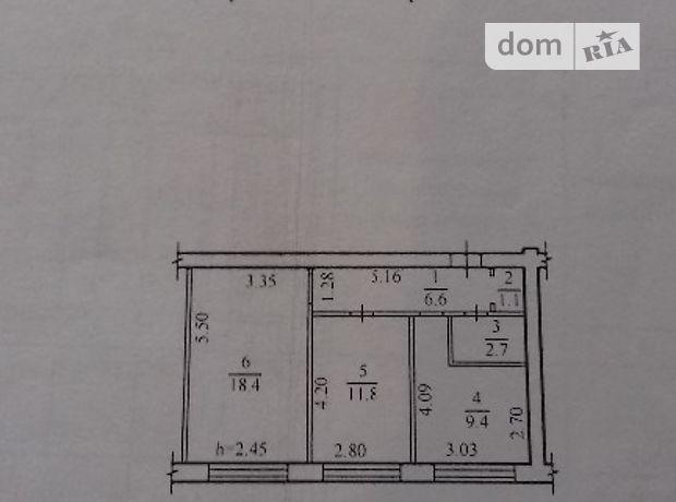 Продажа квартиры, 2 ком., Днепропетровск, р‑н.Шевченковский, Абхазская улица