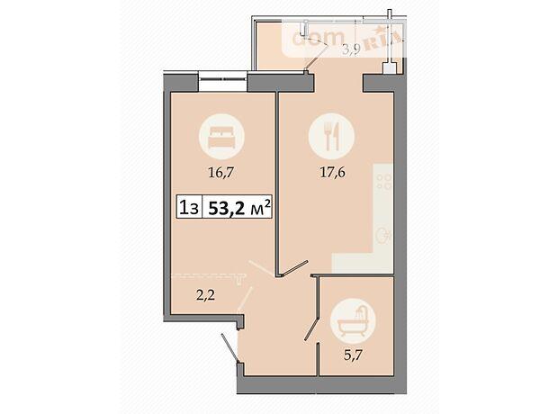 Продаж однокімнатної квартири в Дніпропетровську на просп. Слобожанський район Слобожанське фото 1