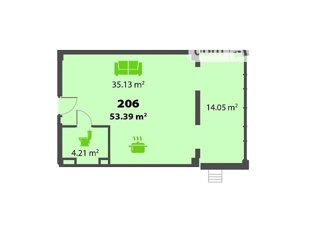 Продаж двокімнатної квартири в Дніпропетровську на просп. Героїв район Соборний фото 1