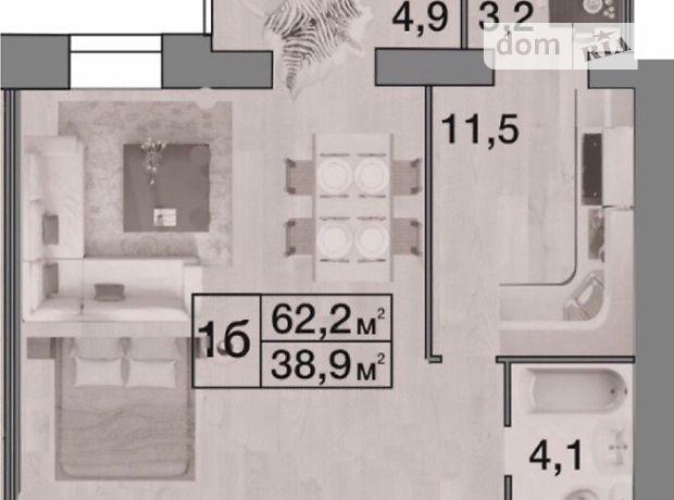 Продажа квартиры, 2 ком., Днепропетровск, р‑н.Соборный, Набережная Победы улица, дом 42