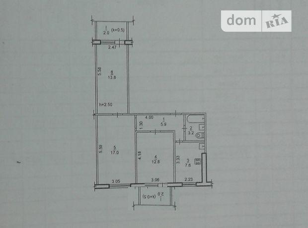 Продаж квартири, 3 кім., Дніпропетровськ, р‑н.Сонячний, Малиновського Маршала вулиця