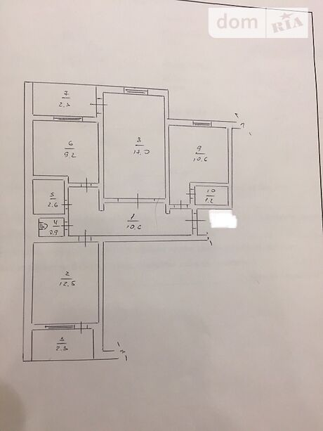 Продажа трехкомнатной квартиры в Долинской, на Нова район Долинская фото 1