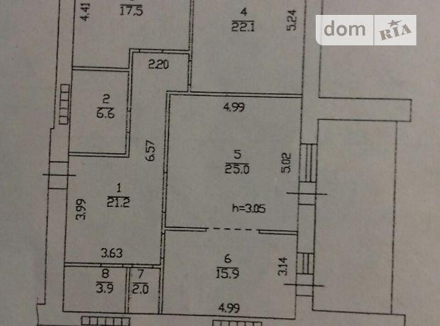 Продажа трехкомнатной квартиры в Донецке, на ул. Университетская район Ворошиловский фото 1