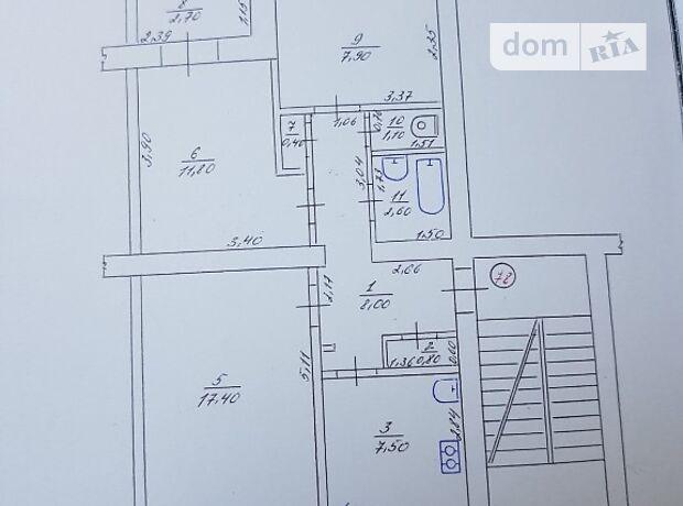 Продаж трикімнатної квартири в Гайсині на Соборная район Гайсин фото 2