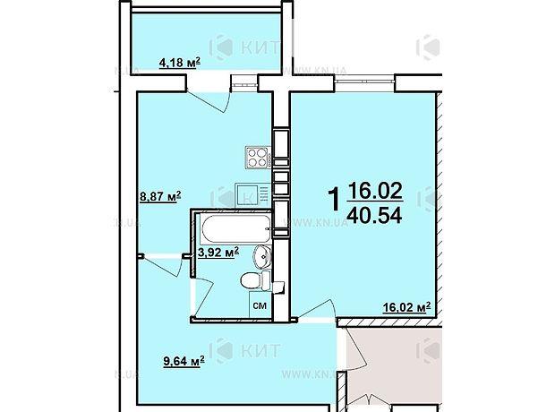 Продажа однокомнатной квартиры в Харькове, на майд. Архитекторов район Алексеевка фото 1