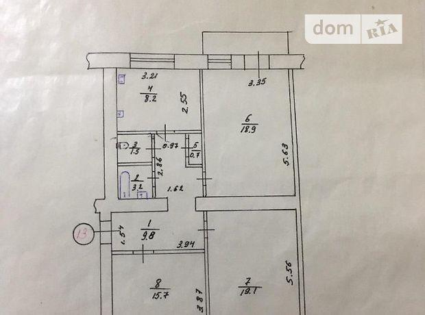 Продажа трехкомнатной квартиры в Харькове, на Большая Панасовская улица 193, район Холодногорский фото 1