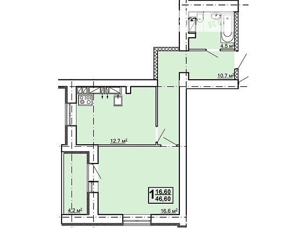 Продажа однокомнатной квартиры в Харькове, на пр. Рогатинский 4, район Холодногорский фото 1
