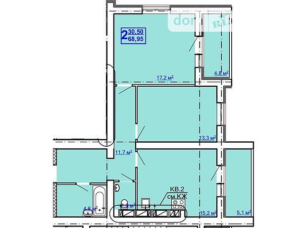 Продажа двухкомнатной квартиры в Харькове, на пр. Рогатинский 4, район Холодногорский фото 1