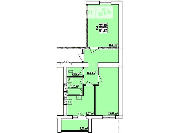 Продажа двухкомнатной квартиры в Харькове, на Льва Ландау просп. 52, район Новые Дома фото 1