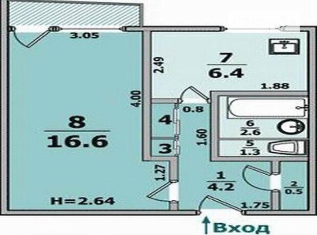 Продажа однокомнатной квартиры в Харькове, на ул. Командарма Корка район Северная Салтовка фото 1