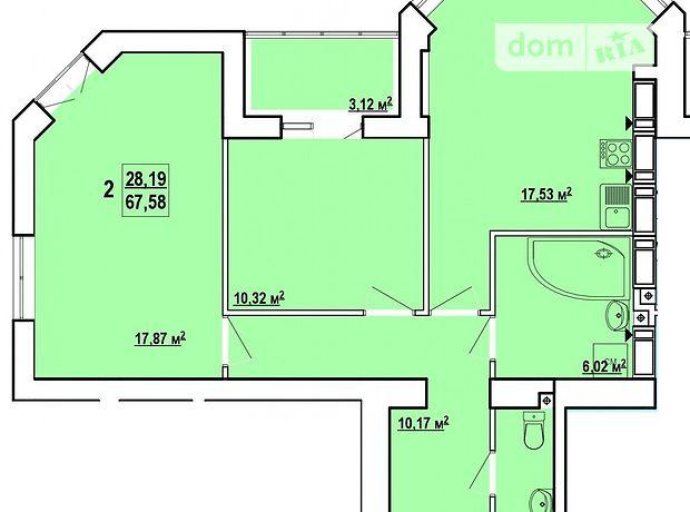 Продажа двухкомнатной квартиры в Харькове, на ул. Профессорская 30, район Шевченковский фото 1