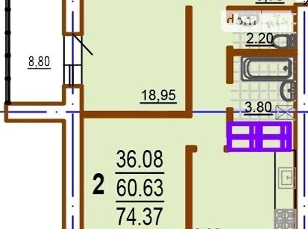 Продажа двухкомнатной квартиры в Харькове, на ул. Шекспира 13, район Шевченковский фото 1