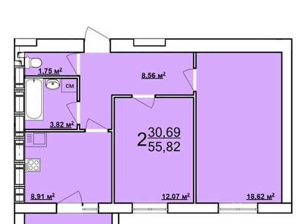 Продажа двухкомнатной квартиры в Харькове, на Драгоманова 8, фото 1