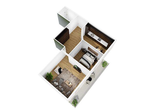 Продаж двокімнатної квартири в Херсоні на вул. Академіка Тарле район Суворовський фото 1