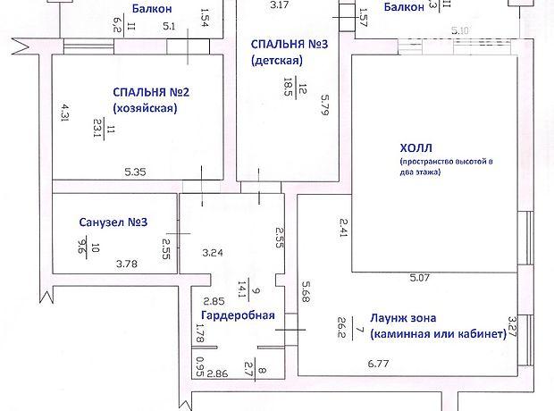 Продажа квартиры, 5 ком., Херсон
