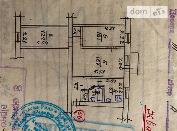 Продаж трикімнатної квартири в Хмільнику на 1-го мая 54, фото 2