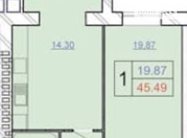 Продажа однокомнатной квартиры в Хмельницком, на шоссе Винницкое 1/8 район Автовокзал №1 фото 1