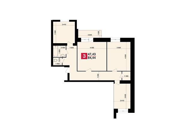 Продажа трехкомнатной квартиры в Хмельницком, на ул. Гастелло район Дубово фото 1