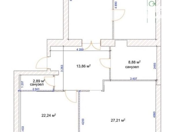 Продажа трехкомнатной квартиры в Хмельницком, на ул. Прибужская 5/1, район Центр фото 1
