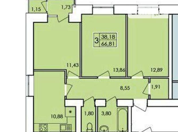 Продажа квартиры, 3 ком., Хмельницький, р‑н.Виставка, Вінницьке шосе