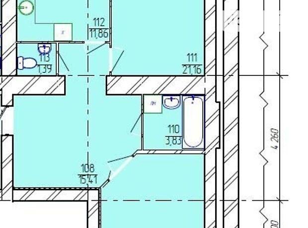 Продаж двокімнатної квартири в Хмельницькому на шосе Старокостянтинівське 20/7, район Виставка фото 1