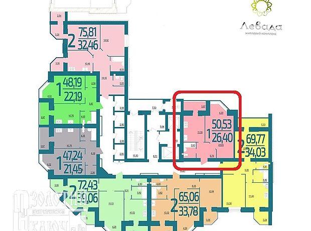Продажа квартиры, 1 ком., Хмельницкий, р‑н.Выставка, Старокостянтиновское шоссе, дом 5В