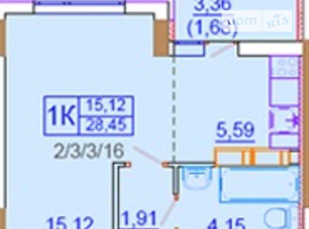 Продажа квартиры, 1 ком., Одесская, Ильичевск, 1 Мая
